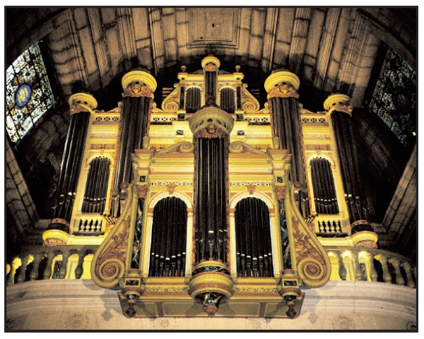 photo orgue copie écran